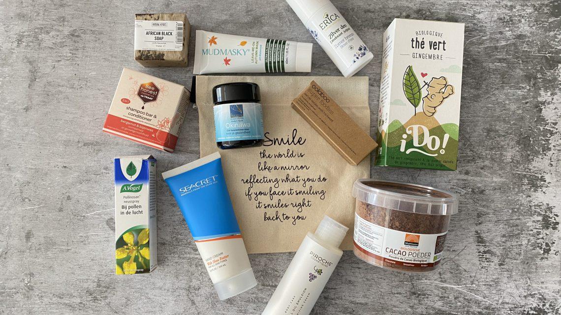 Jouwbox 10, prachtige natuurlijke producten!